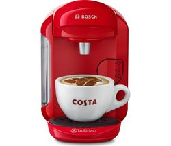 TASSIMO by Bosch Vivy2 TAS1403GB Hot Drinks Machine - Red