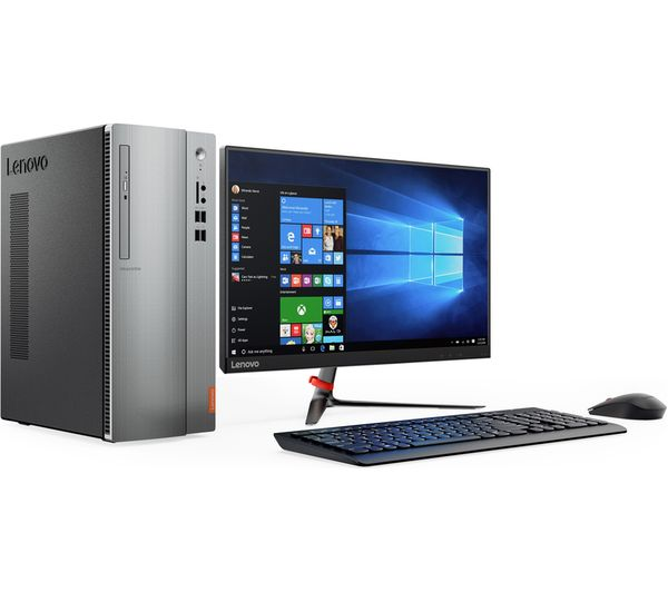 Lenovo Ideacentre 510 15 Desktop Pc Silver