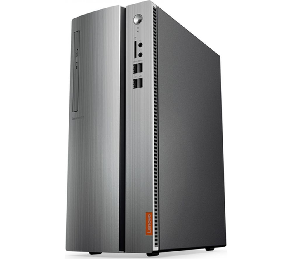 LENOVO IdeaCentre 510-15 Desktop PC - Silver