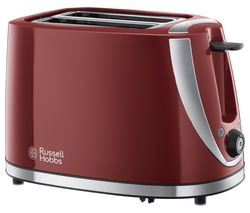 RUSSELL HOBBS Mode 21411 2-Slice Toaster - Red
