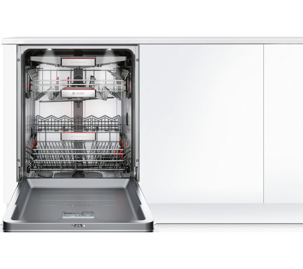 BOSCH Serie 8 SMV68TD06G Full-size Fully Integrated Dishwasher - Stainless Steel