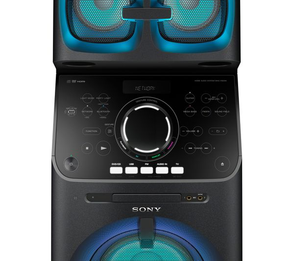 buy sony high power mhc v90dw smart sound megasound hi fi. Black Bedroom Furniture Sets. Home Design Ideas