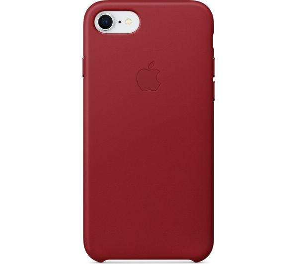 online store d36b3 625ba APPLE iPhone 8 & 7 Leather Case - Red
