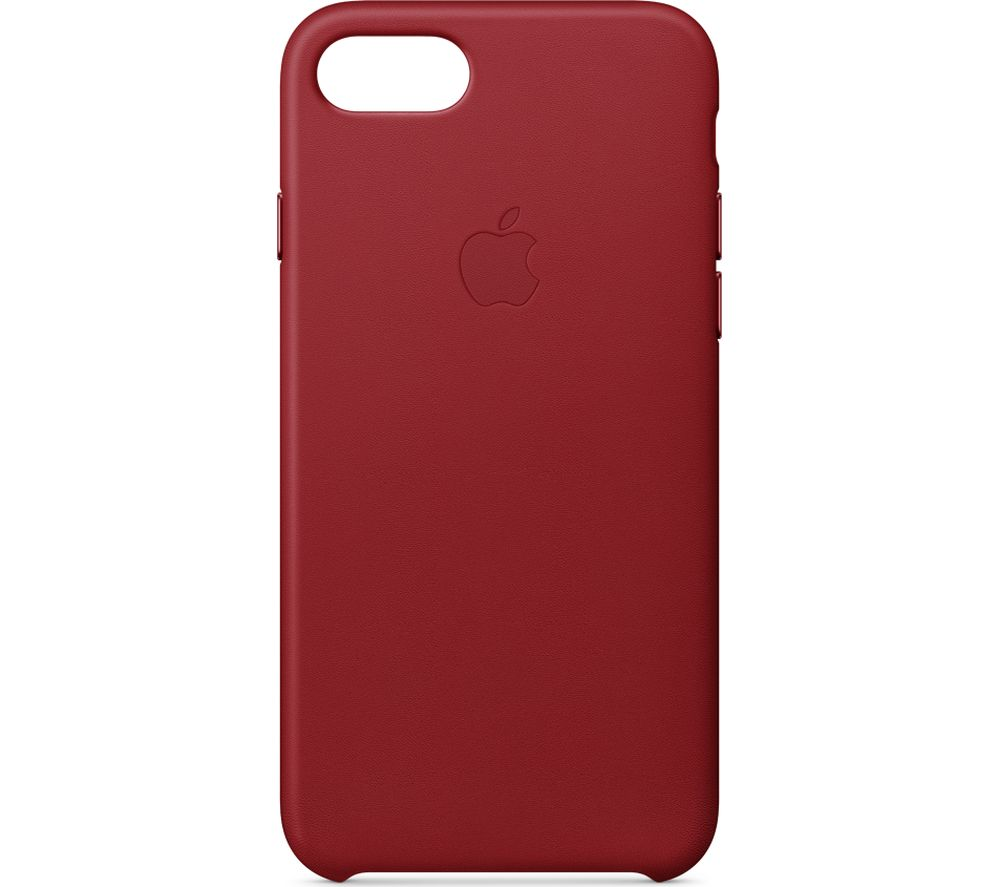 APPLE MQHA2ZM/A iPhone 8 & 7 Leather Case - Red