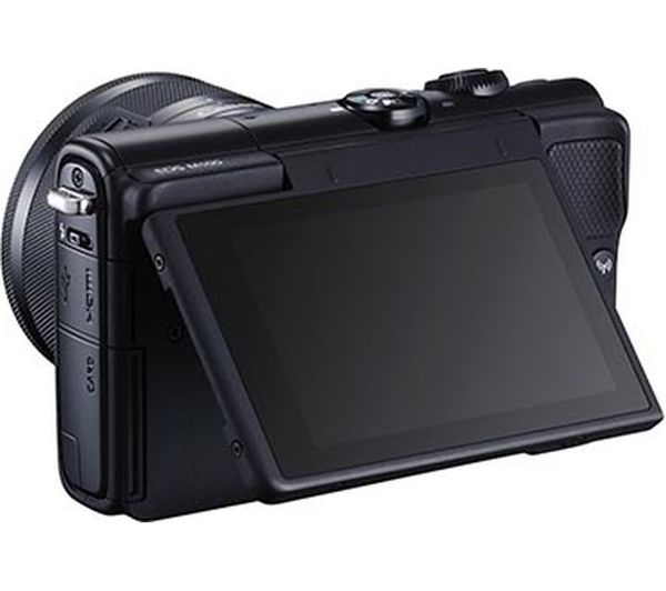 buy canon eos m100 mirrorless camera with ef m 15 45 mm f 3 5 6 3 is