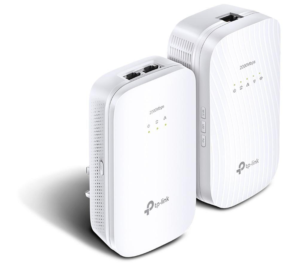 TP-LINK TL-WPA9610 Powerline Adapter Kit - Twin Pack