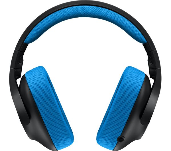 LOGITECH G233 Prodigy 2 0 Gaming Headset - Blue & Black