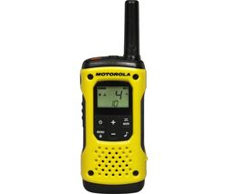 MOTOROLA TLKR T92 H20 Walkie Talkie - Yellow & Black