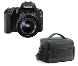 CANON EOS 200D DSLR Camera with EF-S 18-55 mm f/3.5-5.6 III & EF 50 mm f/1.8 STM Lens