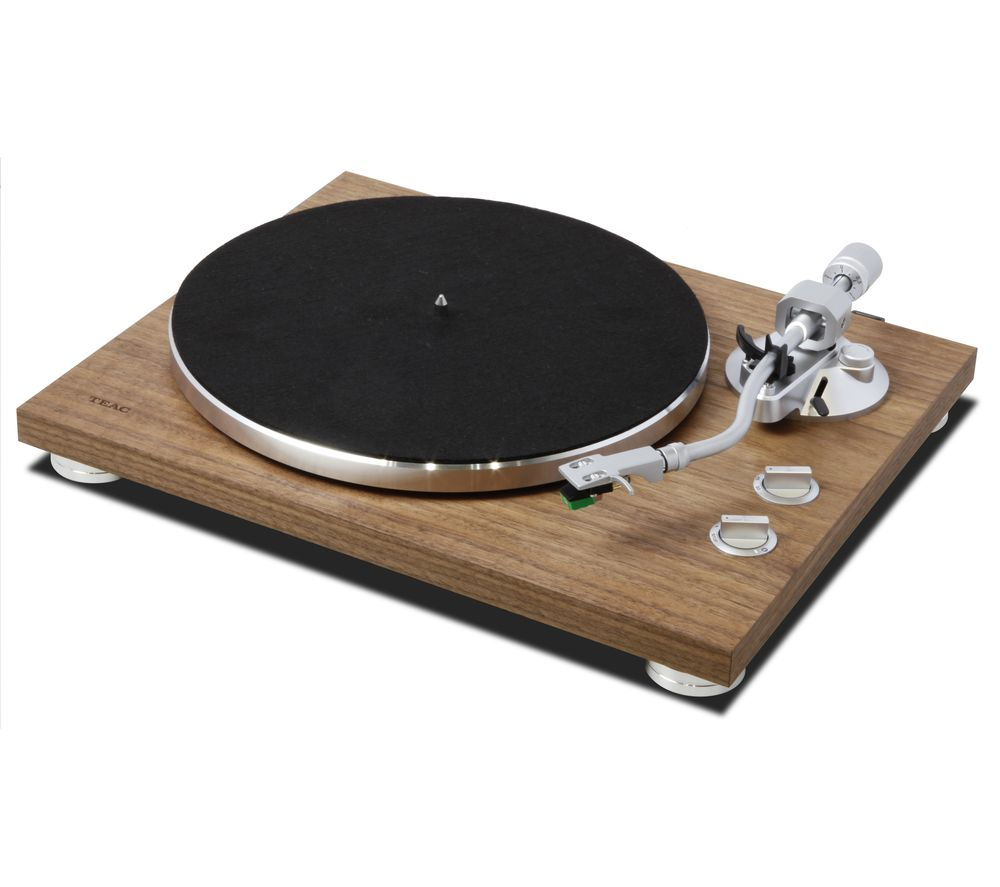 TEAC TN-400BT Belt Drive Bluetooth Turntable - Walnut