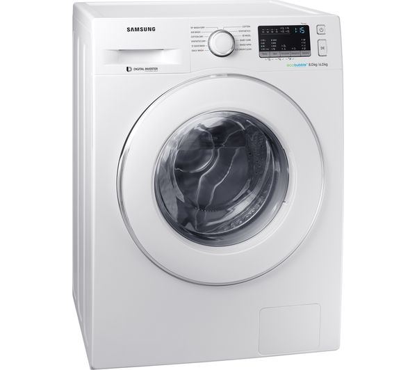 Buy Samsung Wd80m4b53iweu 8 Kg Washer Dryer White Free Delivery