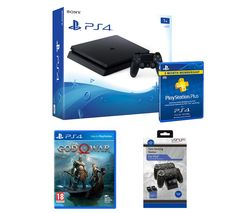SONY PlayStation 4 1 TB, God Of War, Docking Station & Subscription Bundle