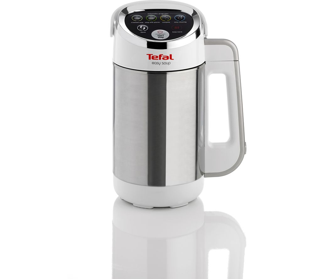 TEFAL Easy Soup BL841140 Soup Maker - Stainless Steel & White