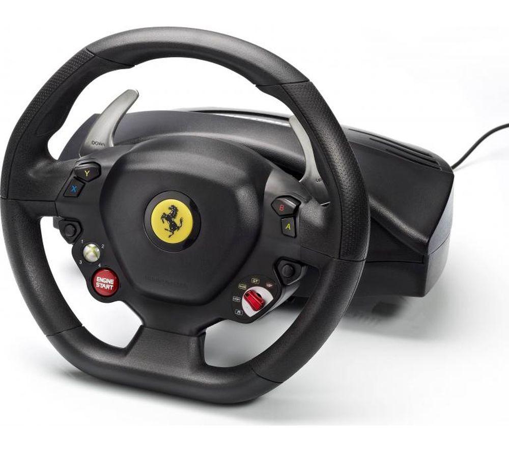 THRUSTMASTER Ferarri 458 Italia Racing Wheel for PC