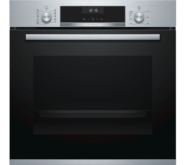 Image of BOSCH Serie 6 HBA5570S0B Electric Oven - Stainless Steel