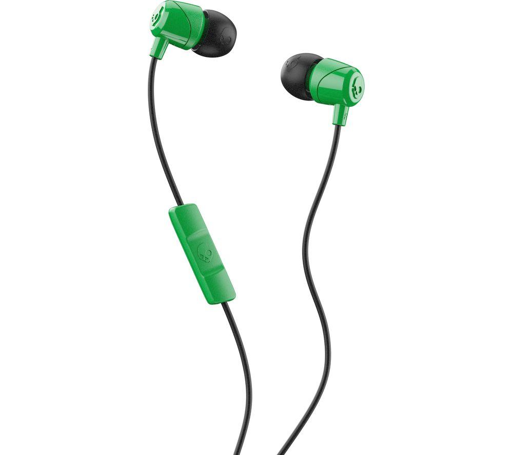 SKULLCANDY Jib Headphones - Green & Black