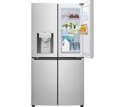 LG GMJ936NSHV Smart Fridge Freezer - Steel Best Price, Cheapest Prices