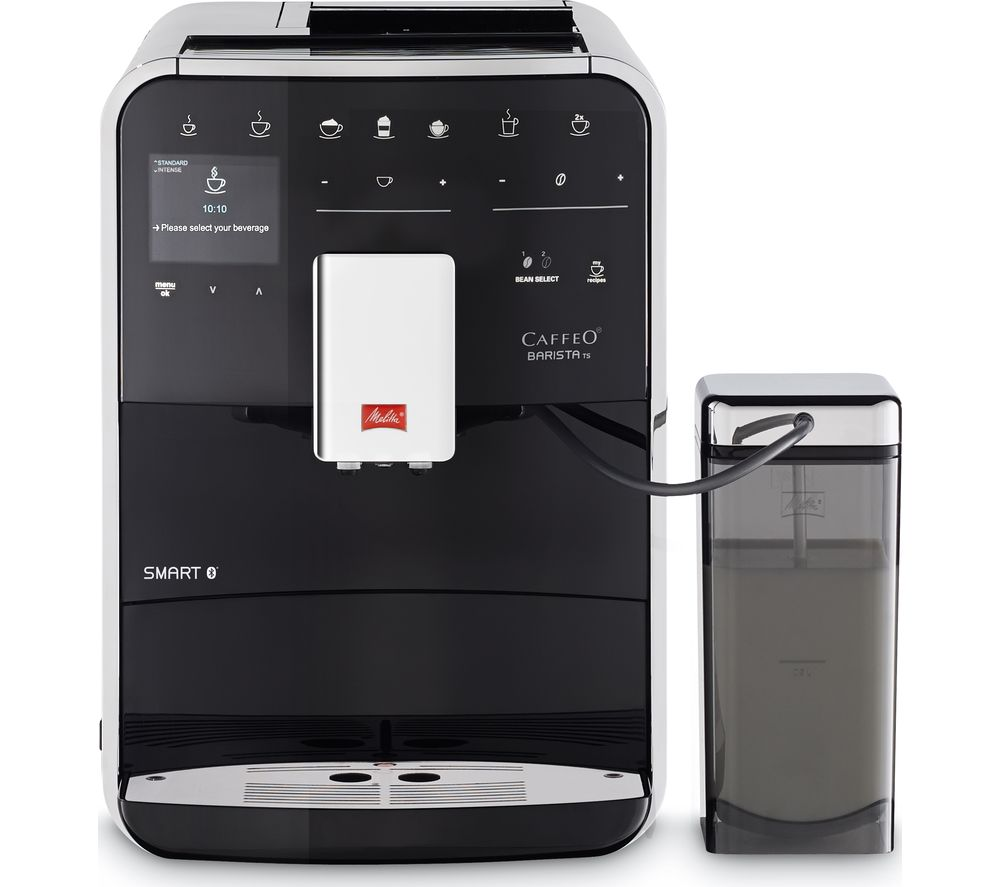 buy melitta caffeo barista ts f85 0 102 smart bean to cup coffee machine black free delivery. Black Bedroom Furniture Sets. Home Design Ideas