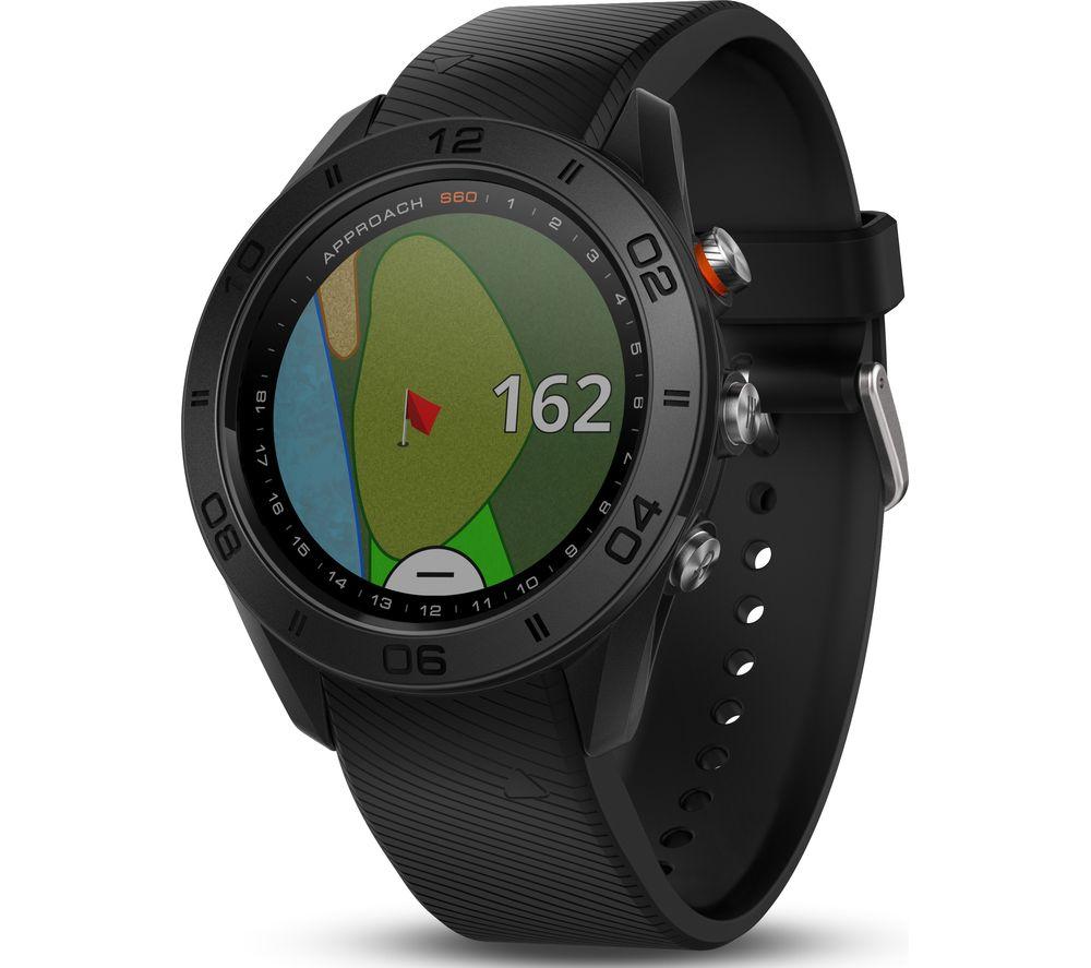 GARMIN Approach S60 Golf Watch - Black, Black