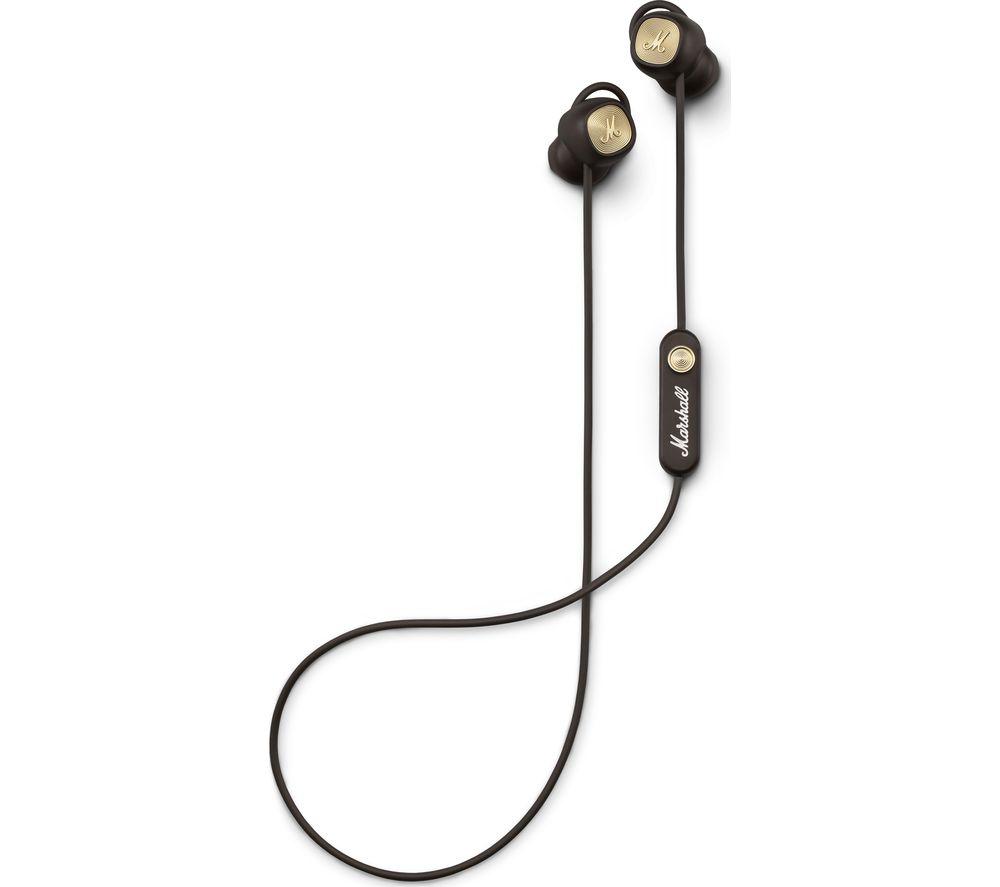 MARSHALL Minor II Wireless Bluetooth Headphones - Brown