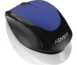 AMWLBL19 Wireless Optical Mouse - Blue & Black