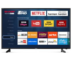 SHARP LC-40UG7252K Smart 4K Ultra HD HDR LED TV