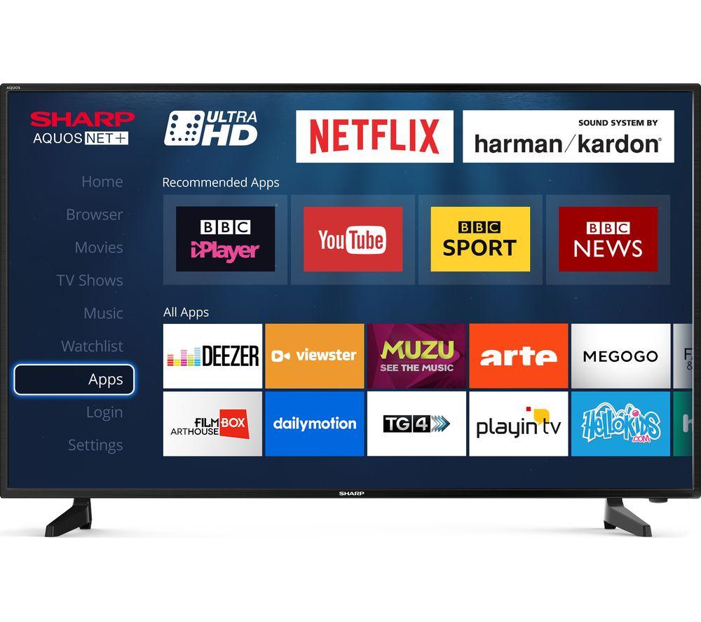 SHARP LC-40UG7252K Smart 4K Ultra HD HDR LED TV