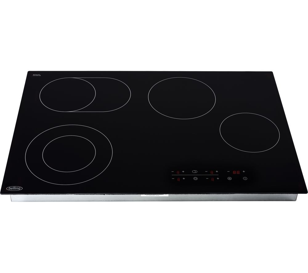 Image of BELLING CH772TX Electric Ceramic Hob - Black, Black
