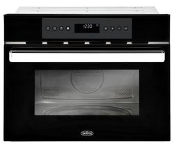 BELLING BI45COMW Built-in Compact Combination Microwave – Black