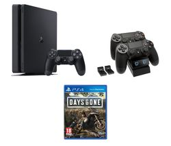 SONY PlayStation 4, Days Gone & Twin Docking Station Bundle - 500 GB