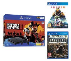 SONY PlayStation 4, Red Dead Redemption 2, Anthem & Days Gone Bundle - 500 GB