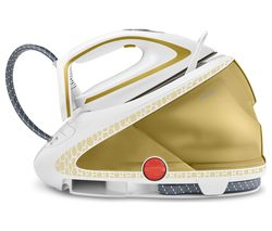 TEFAL Pro Express Ultimate GV9581 Steam Generator Iron - White & Gold