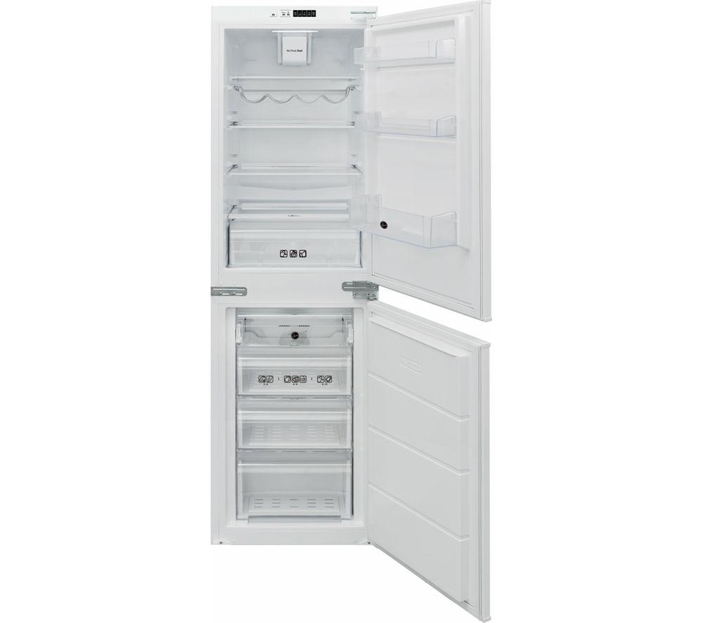 HOOVER BHBF 172 NUK Integrated 50/50 Fridge Freezer - Sliding Hinge