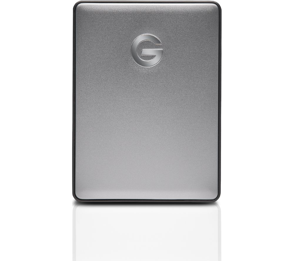 Image of G-DRIVE Mobile Portable Hard Drive - 1 TB, Space Grey, Grey