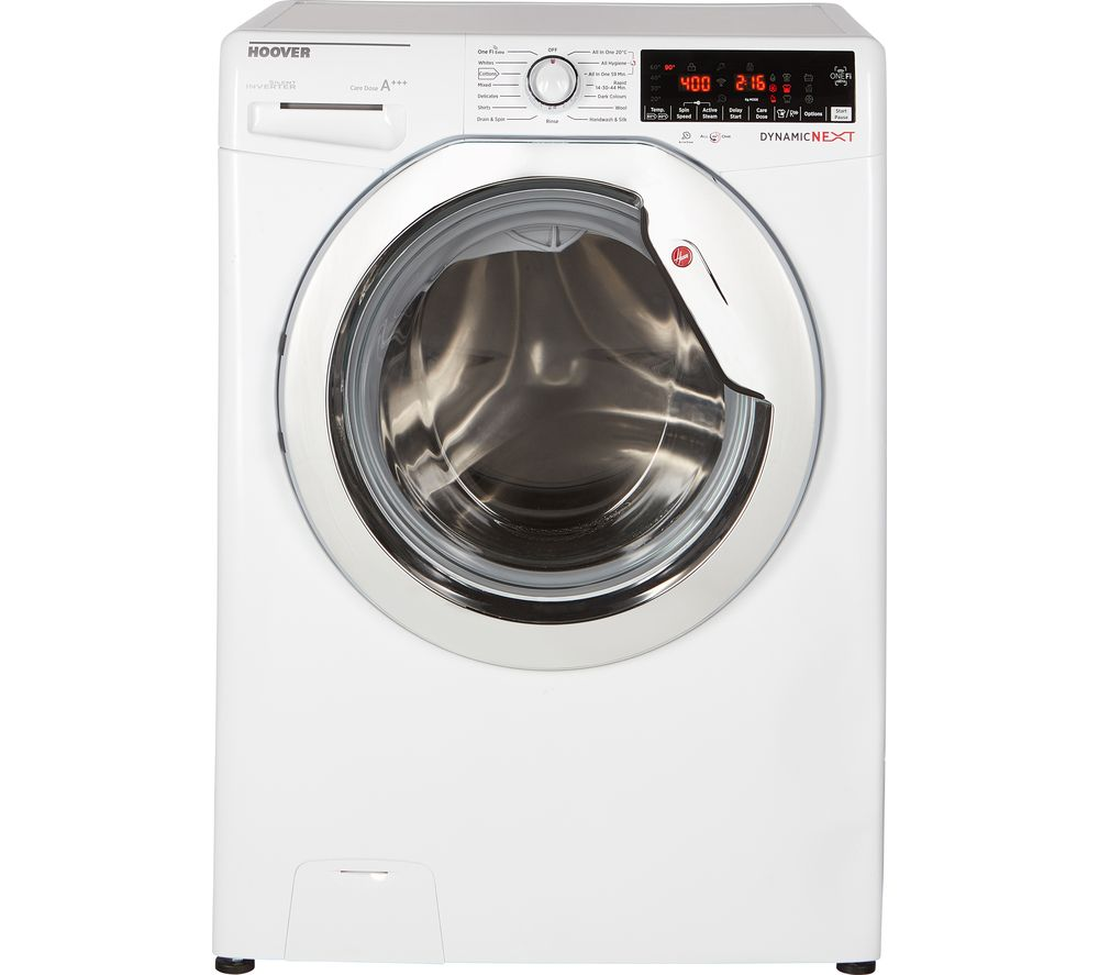 Dynamic DWOAD69AHC7 WiFi-enabled 9 kg 1600 Spin Washing Machine - White, White