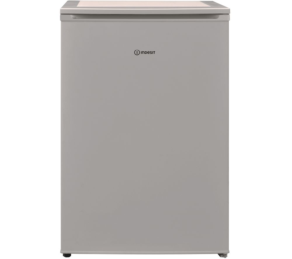 indesit i55vm 1110 s uk undercounter fridge - silver, silver
