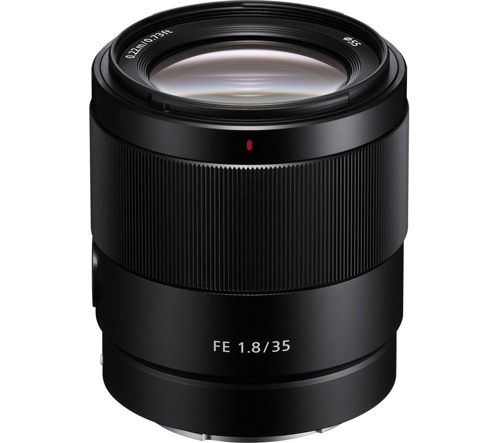 SONY FE 35 mm f/1.8 Standard Prime Lens