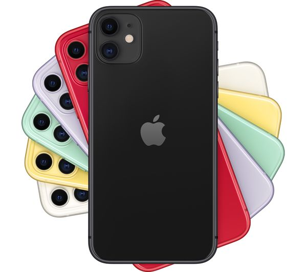 APPLE iPhone 11 – 64 GB Mobile Smart Phone Black – Currys
