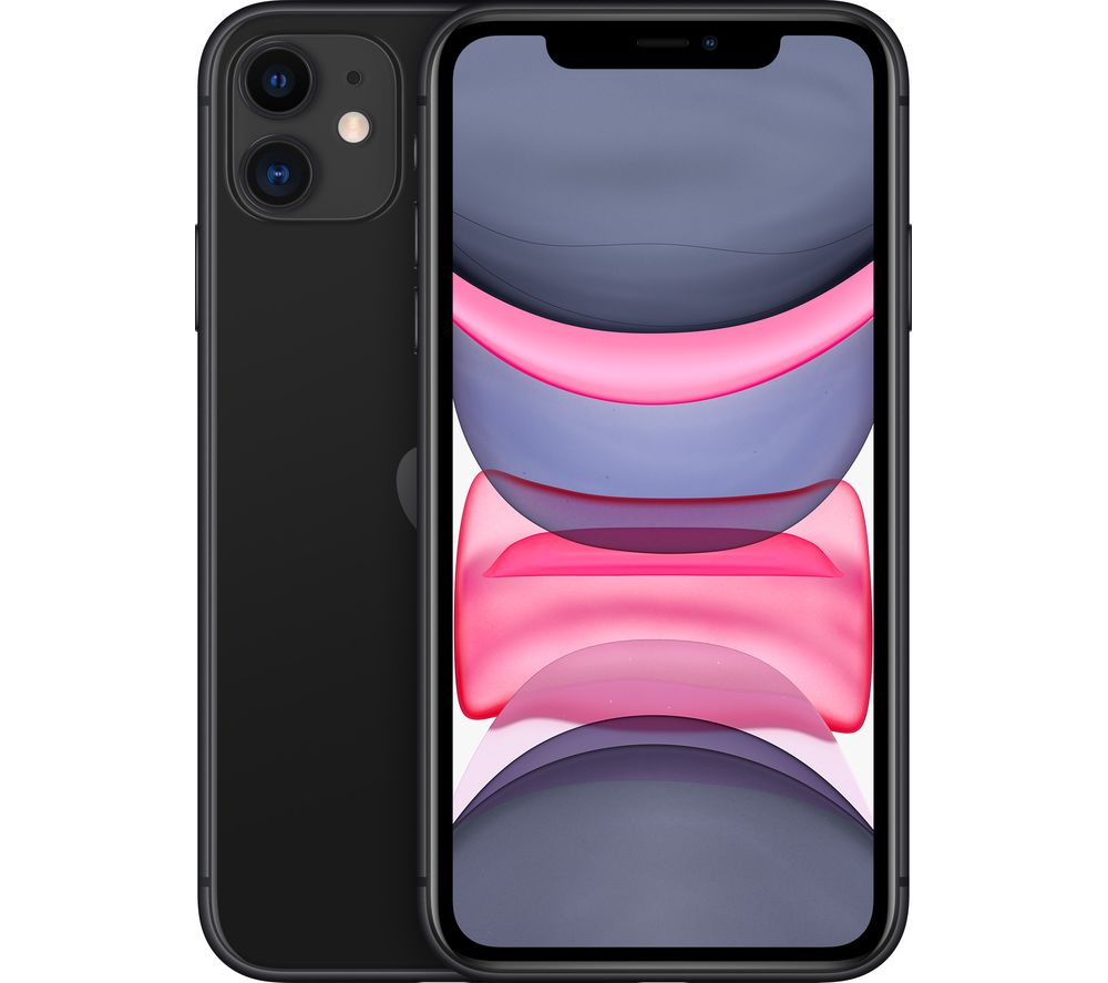 APPLE iPhone 11 - 64 GB, Black