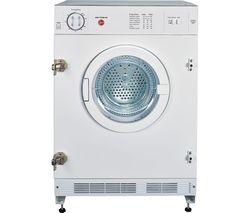 HOOVER HBV7TDW Integrated 7kg Vented Tumble Dryer