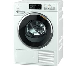 MIELE TWJ660 WP WiFi-enabled 9 kg Heat Pump Tumble Dryer - White