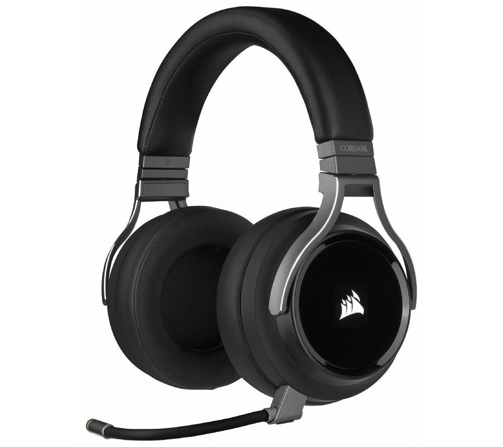 CORSAIR Virtuoso RGB Wireless 7.1 Gaming Headset - Black