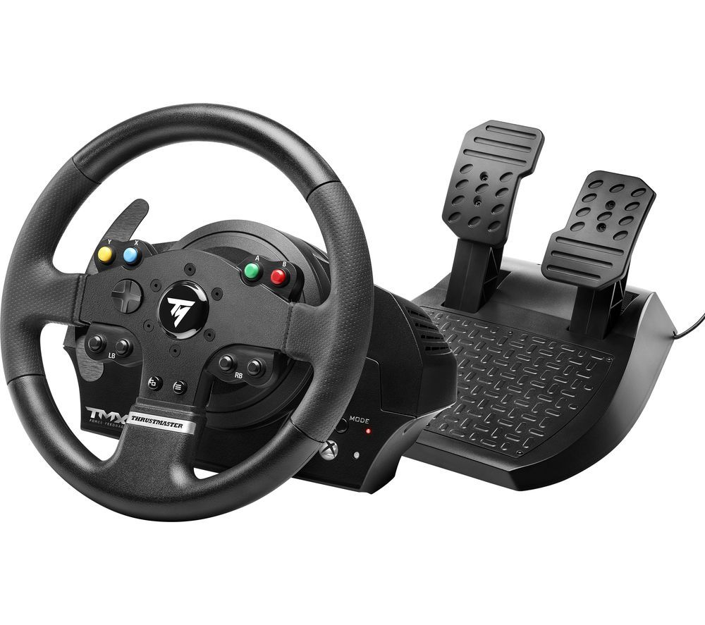THRUSTMASTER TMX Force Feedback PC & Xbox One Wheel & Pedal Set - Black