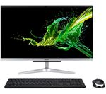 £599, ACER Aspire C24-960 23.8inch All-in-One PC - Intel® Core™ i3, 1 TB HDD, Silver, Everyday: All-rounder for work and play, Intel® Core™ i3-10110U Processor, RAM: 8GB / Storage: 1 TB HDD, Full HD display,