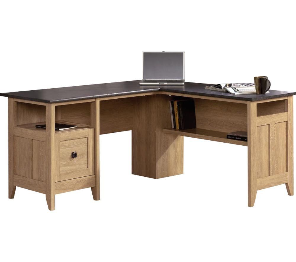 TEKNIK Home Study L-shaped Office Desk - Slate