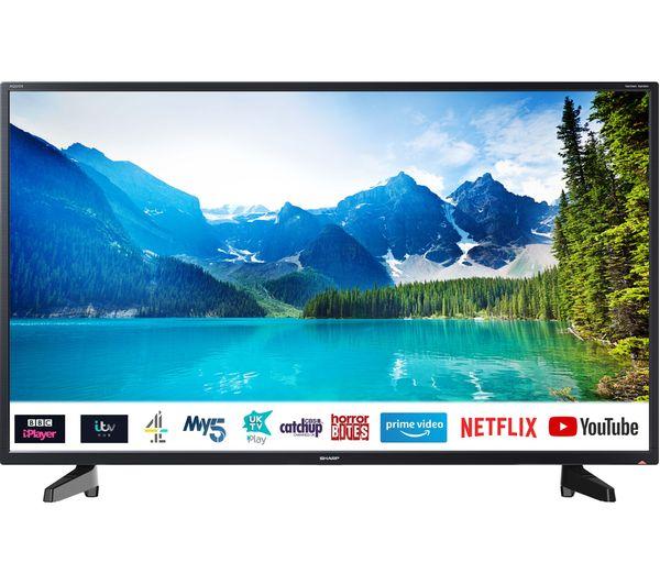 "Image of SHARP 2T-C40BG2KE1FB 40"" Smart Full HD LED TV"