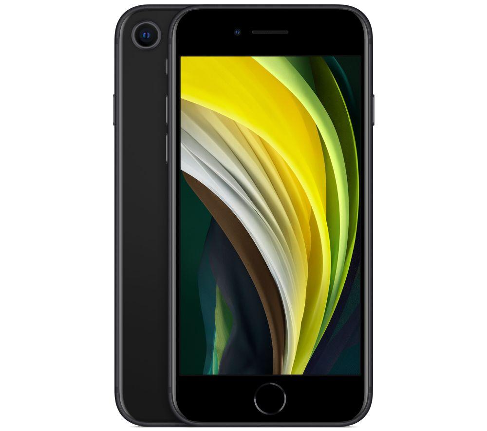 Image of APPLE iPhone SE - 256 GB, Black, Black