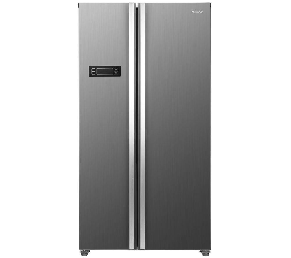 KENWOOD KSBSX20 American-Style Fridge Freezer - Inox