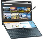 £1499, ASUS ZenBook Duo UX481 14inch Laptop - Intel® Core™ i7, 512 GB SSD, Blue, Windows 10, Intel® Core™ i7-10510U Processor, RAM: 16GB / Storage: 512GB SSD, Graphics: NVIDIA GeForce MX250 2GB, Dual Full HD touchscreens,