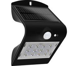 Solar Guardian Wall Lamp - Black